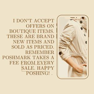 No offers on boutique items